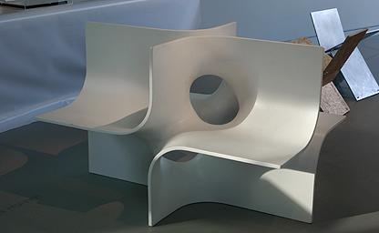 4 Seater prototype, material: fiberglass composite, 2000