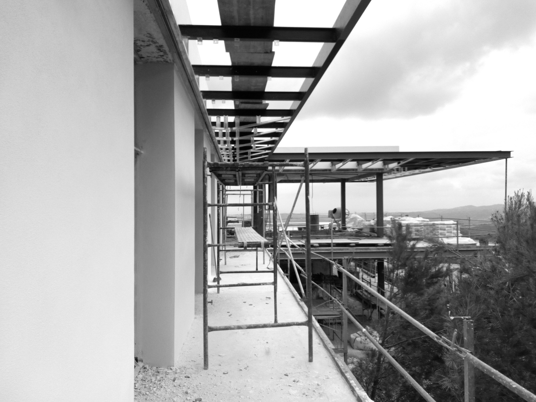 villa k under construction